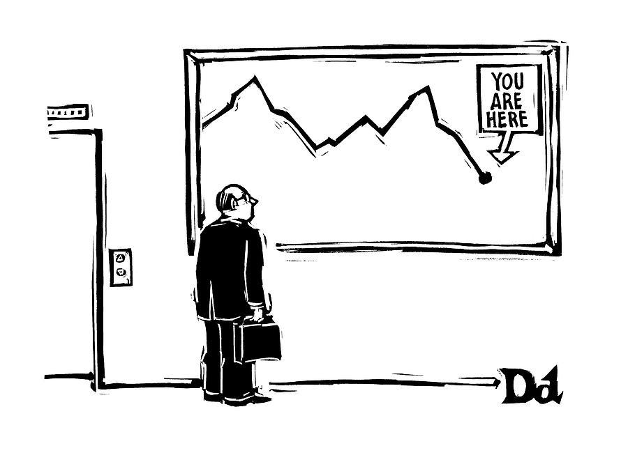 New Yorker June 2nd, 2008 Drawing by Drew Dernavich