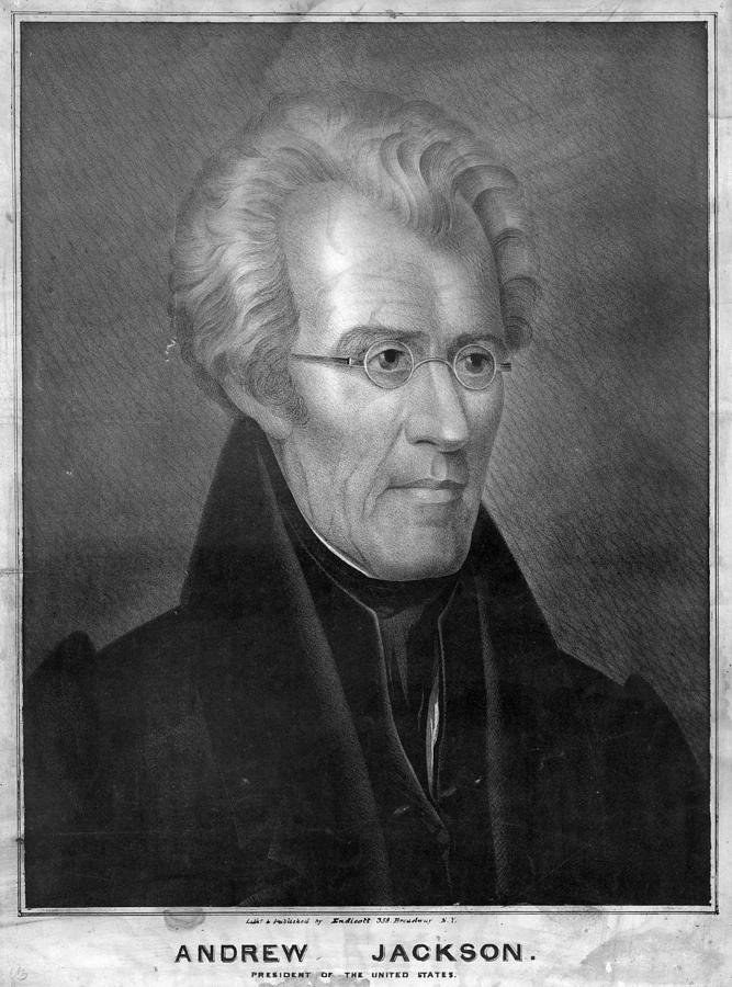 1837 Painting - Andrew Jackson (1767-1845) by Granger