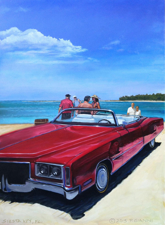 76 Eldorado At Siesta Key Fl Painting by Philip Gianni