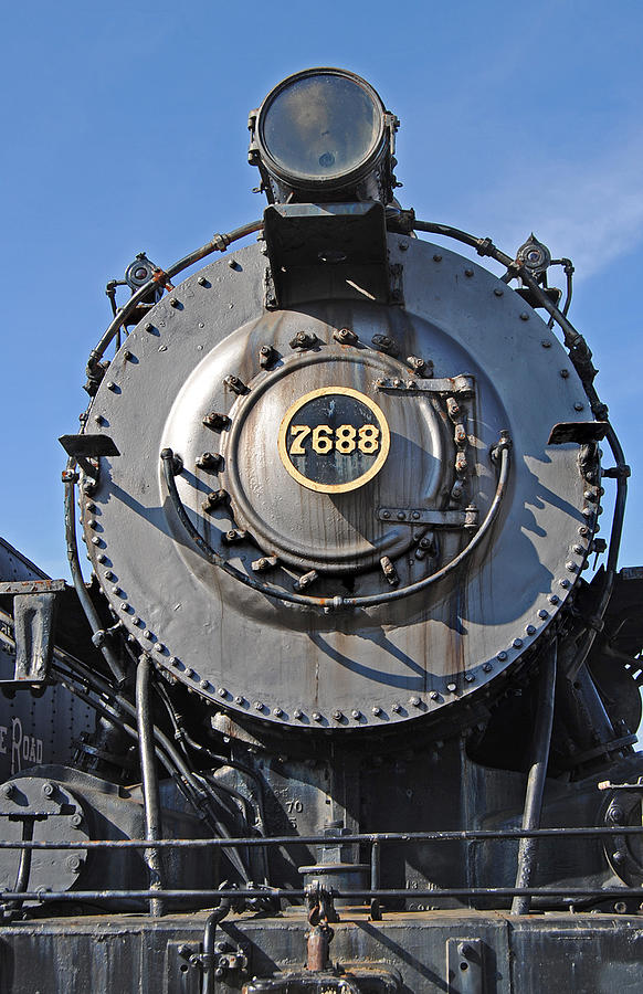 Railroad Track Photograph - 7688 by Skip Willits