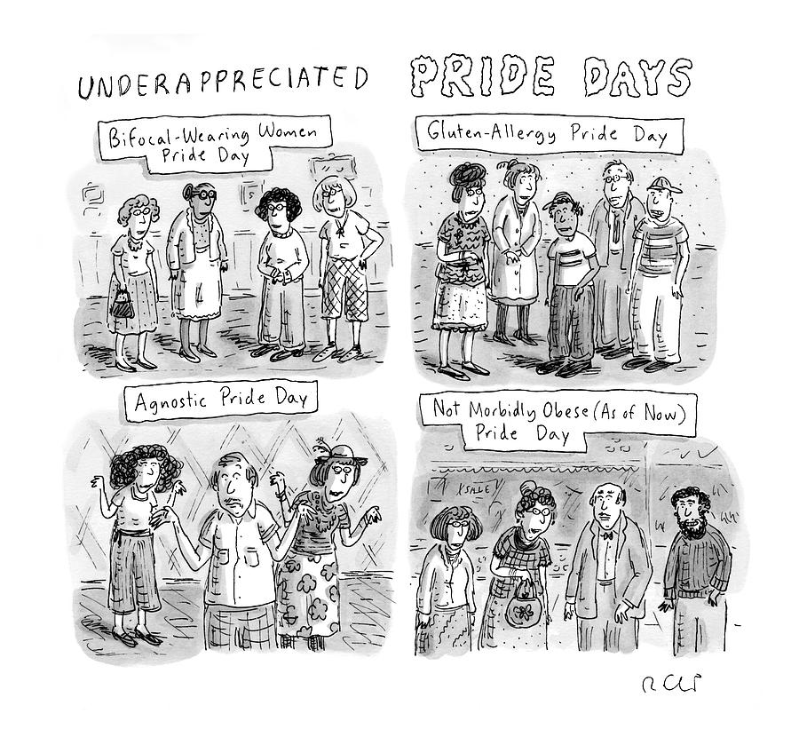 New Yorker July 6th, 2009 Drawing by Roz Chast