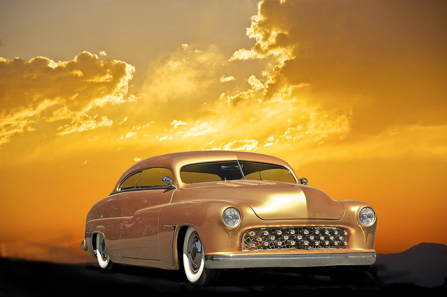 Auto Photograph - 1950 Mercury Custom by Dave Koontz