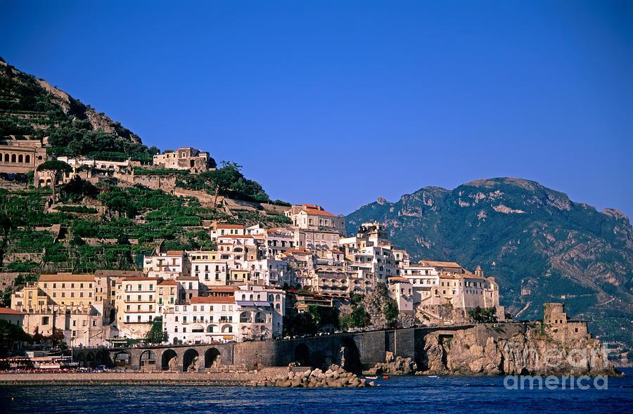 Amalfi Photograph - Amalfi Town In Italy by George Atsametakis