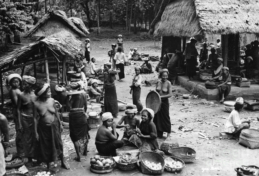 Bali 1930S Photograph By Nicholas Cornhill-4280