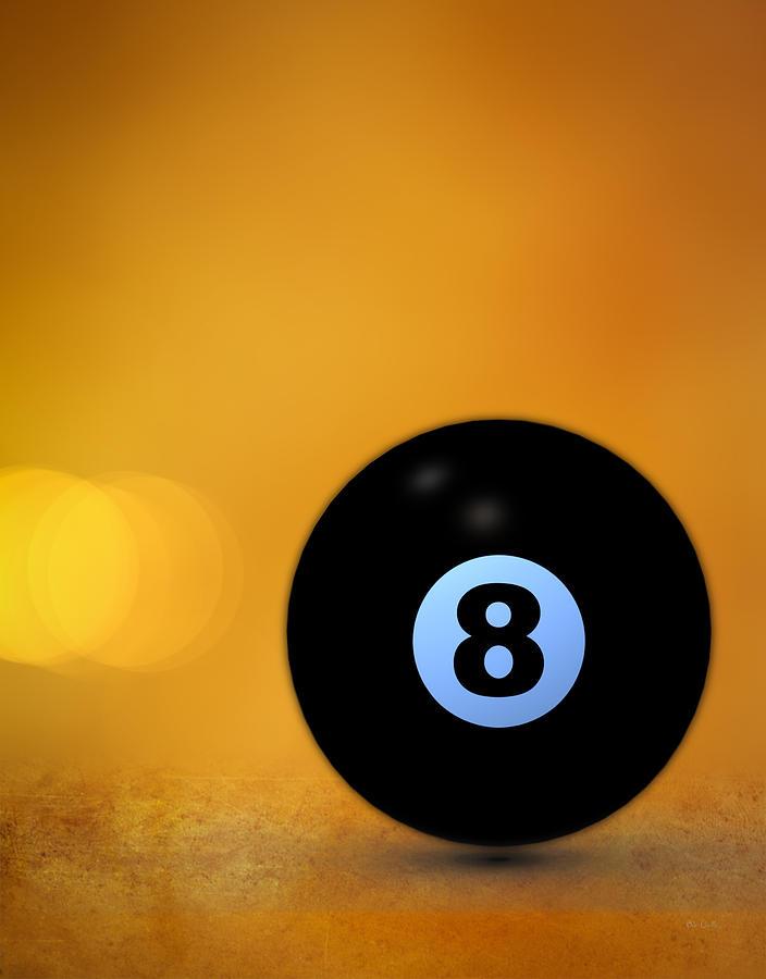 8 Ball Photograph - 8 Ball by Bob Orsillo
