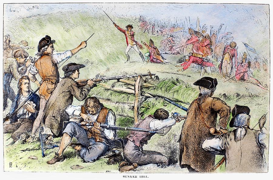 Battle Of Bunker Hill 1775 Photograph By Granger