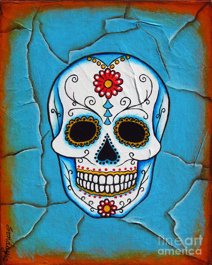 Day Of The Dead Painting - Day Of The Dead by Joseph Sonday