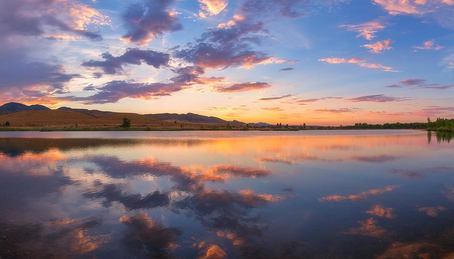8 Dollar Sunset Photograph