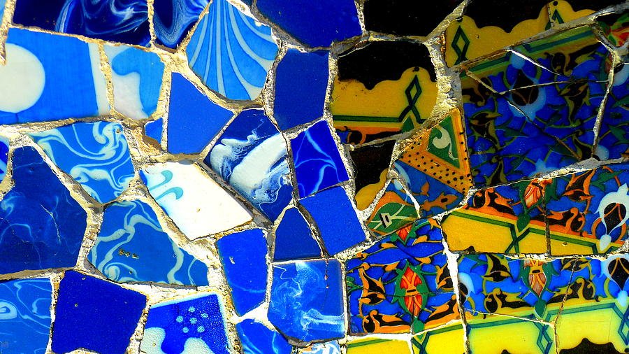 Spain Photograph - Gaudi by Olga Breslav