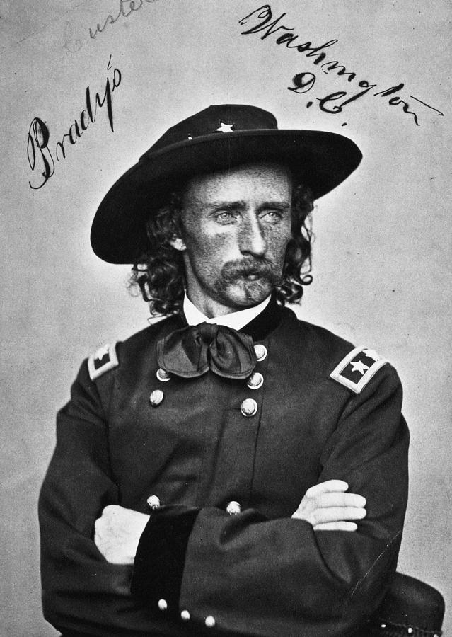 1876 Photograph - George Custer (1839-1876) by Granger