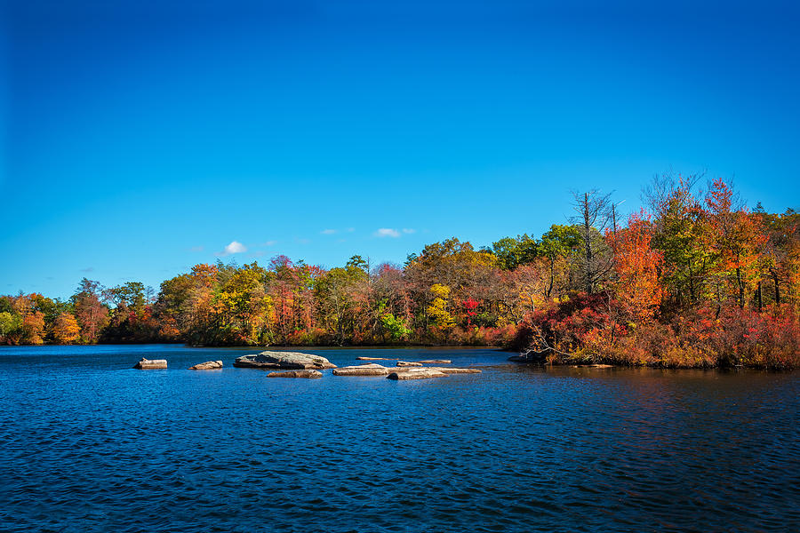 Green Pond Morris County New Jersey Painted 8 Photograph By Rich Franco