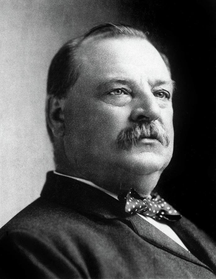 1892 Photograph - Grover Cleveland (1837-1908) by Granger