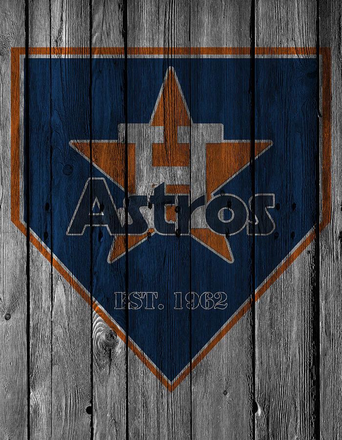 Astros Photograph - Houston Astros by Joe Hamilton