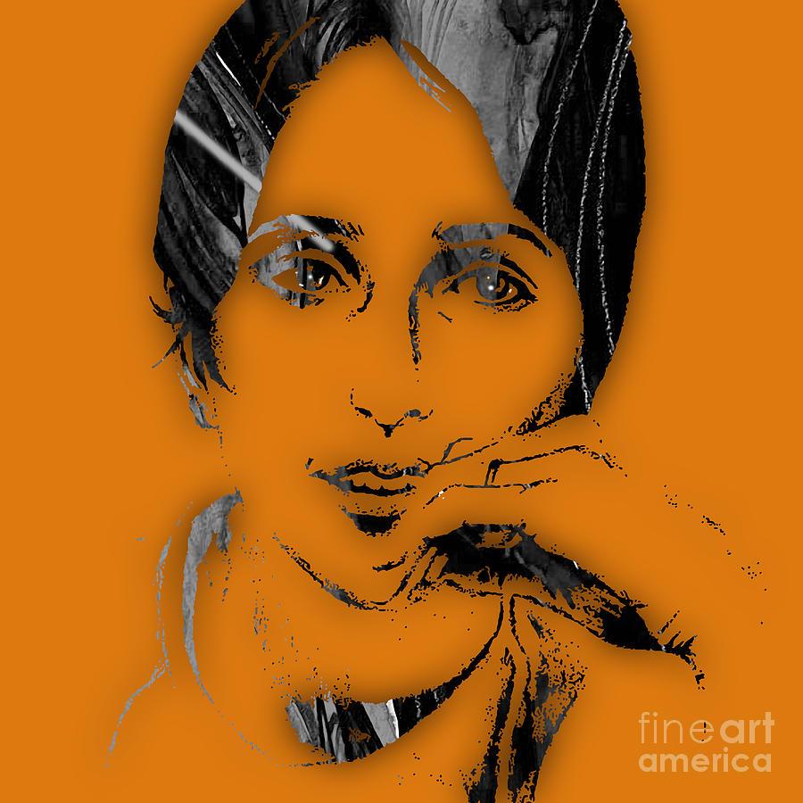 Joan Baez Mixed Media - Joan Baez Collection by Marvin Blaine