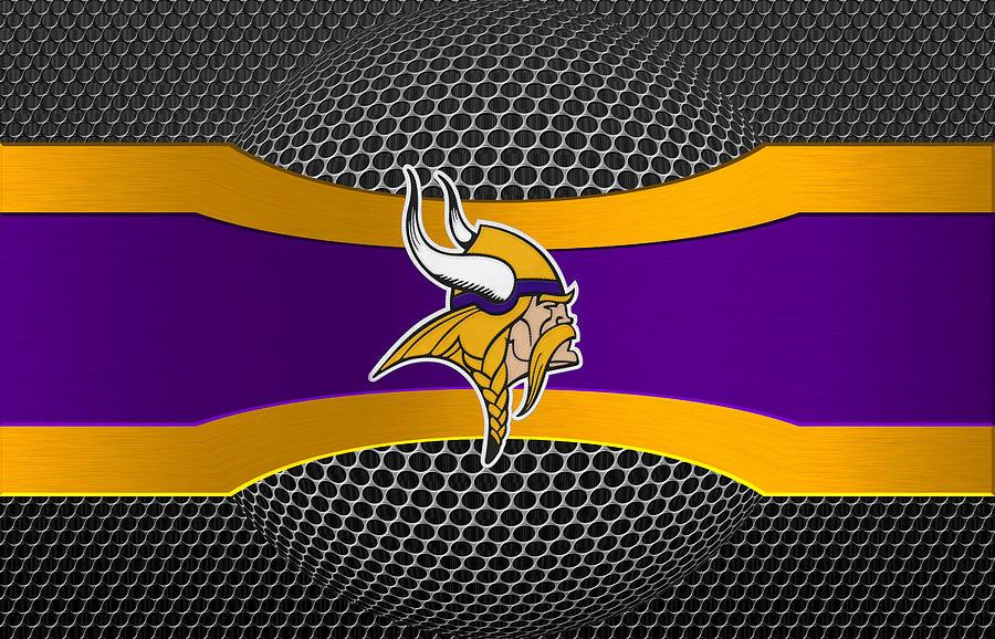 Vikings Photograph - Minnesota Vikings by Joe Hamilton