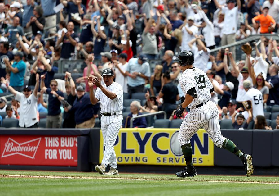 Oakland Athletics v New York Yankees Photograph by Elsa