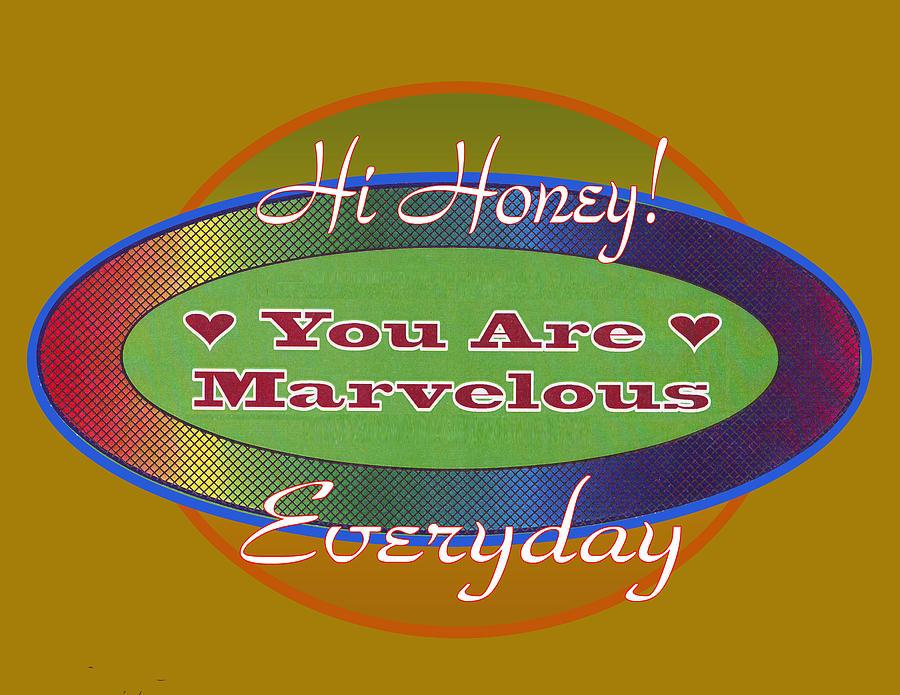 Honey Digital Art - Original by Joe Greenidge