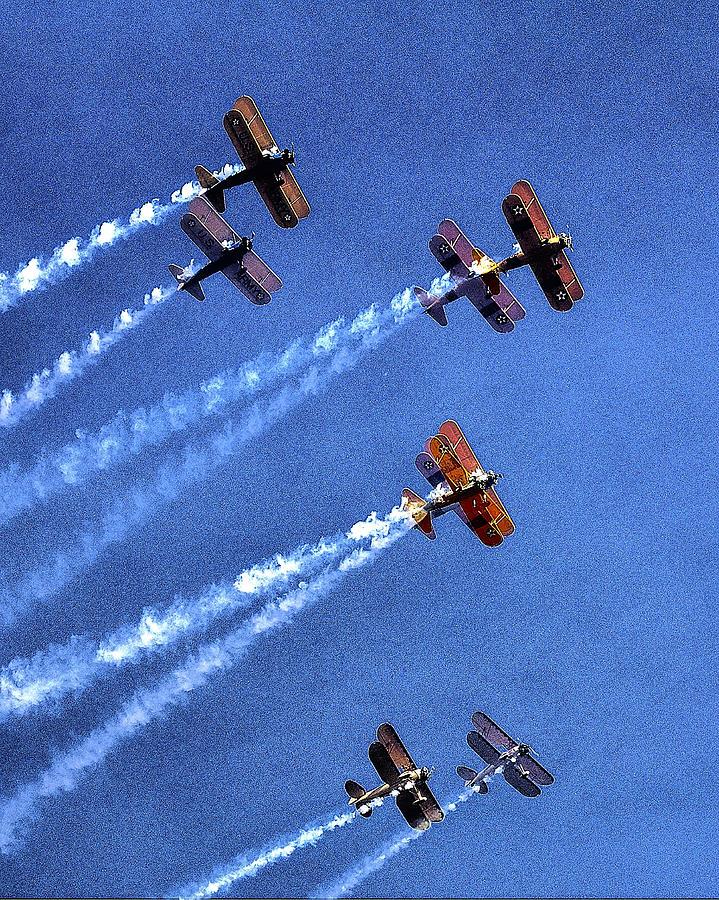 8 Planes 12932 Photograph
