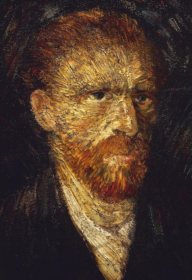 Neo-impressionism Painting - Self-portrait by Vincent van Gogh