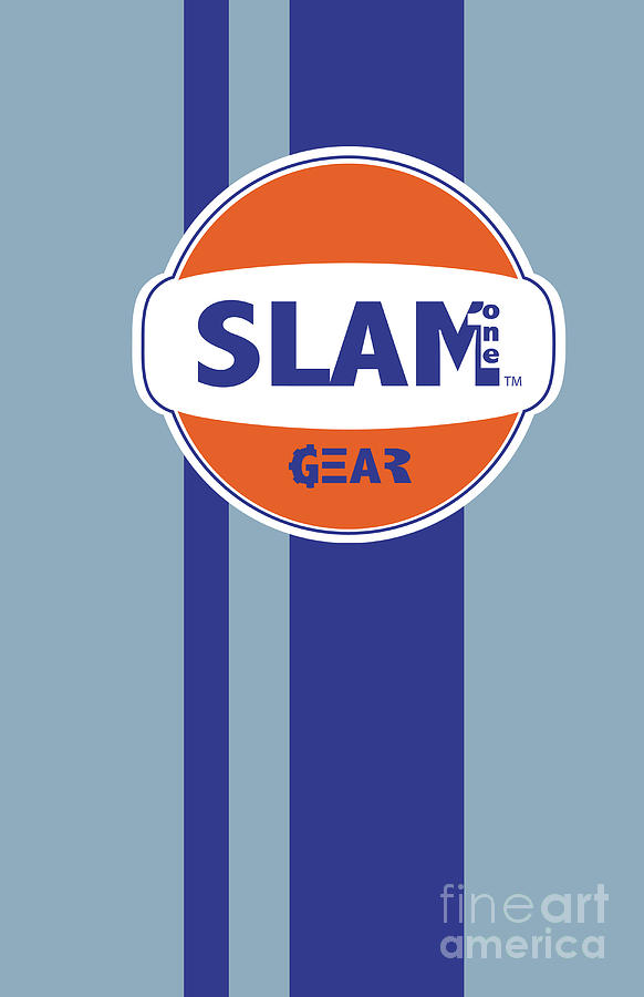 Slam Digital Art - Slam One Gear by James Eye