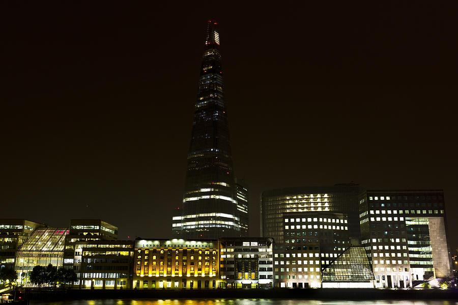 The Shard Photograph - South Bank London by David Pyatt