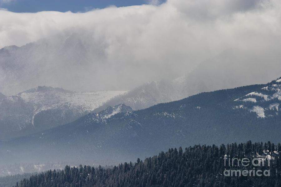 Stormy Peak Photograph