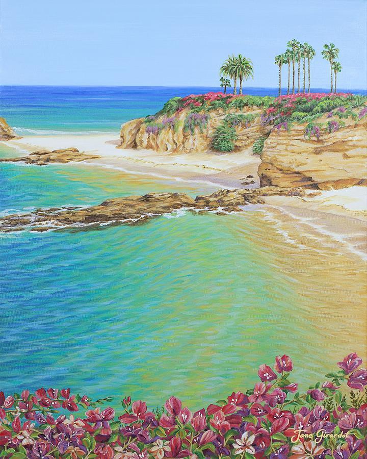 Treasure Island Beach: Treasure Island Beach Painting By Jane Girardot