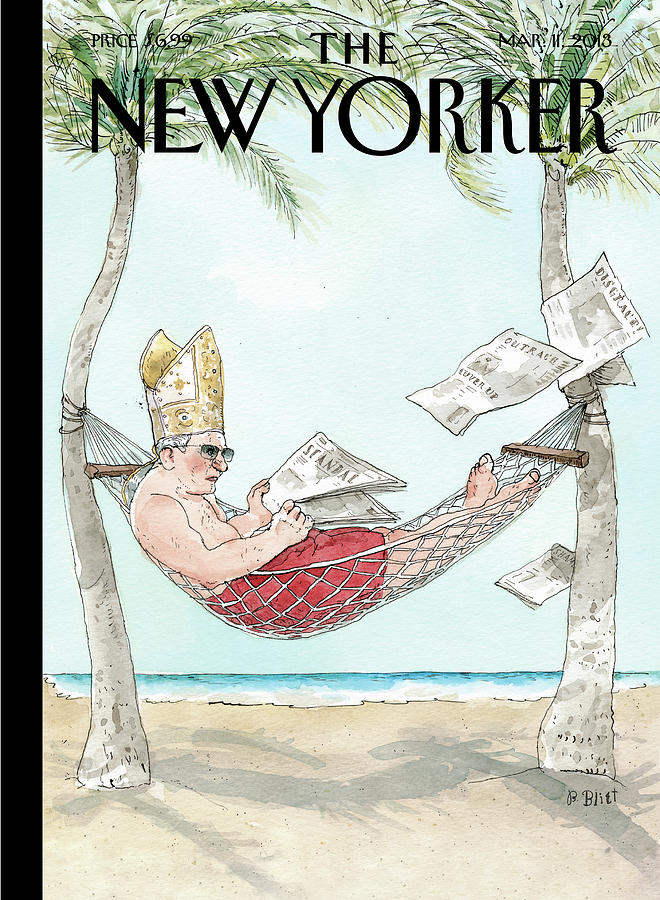 New Yorker March 11th, 2013 Painting by Barry Blitt