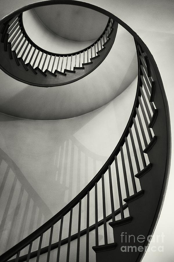 Stairwell Photograph - Untitled by Greg Ahrens