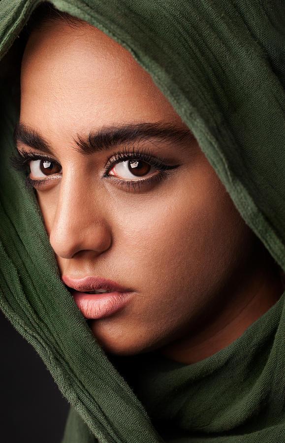 Veil Photograph - Untitled by Mehdi Mokhtari