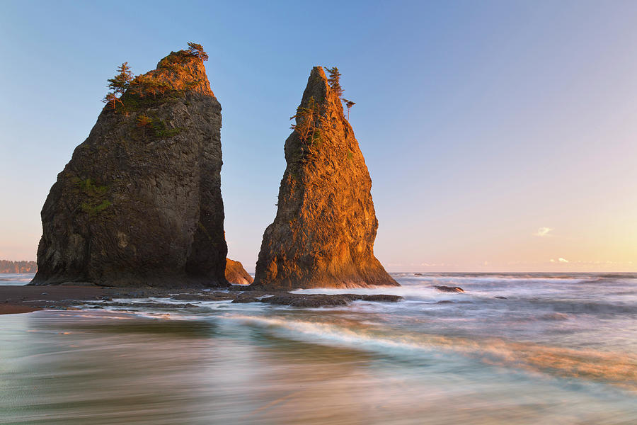 Beach Photograph - Usa, Washington, Olympic National Park by Jaynes Gallery