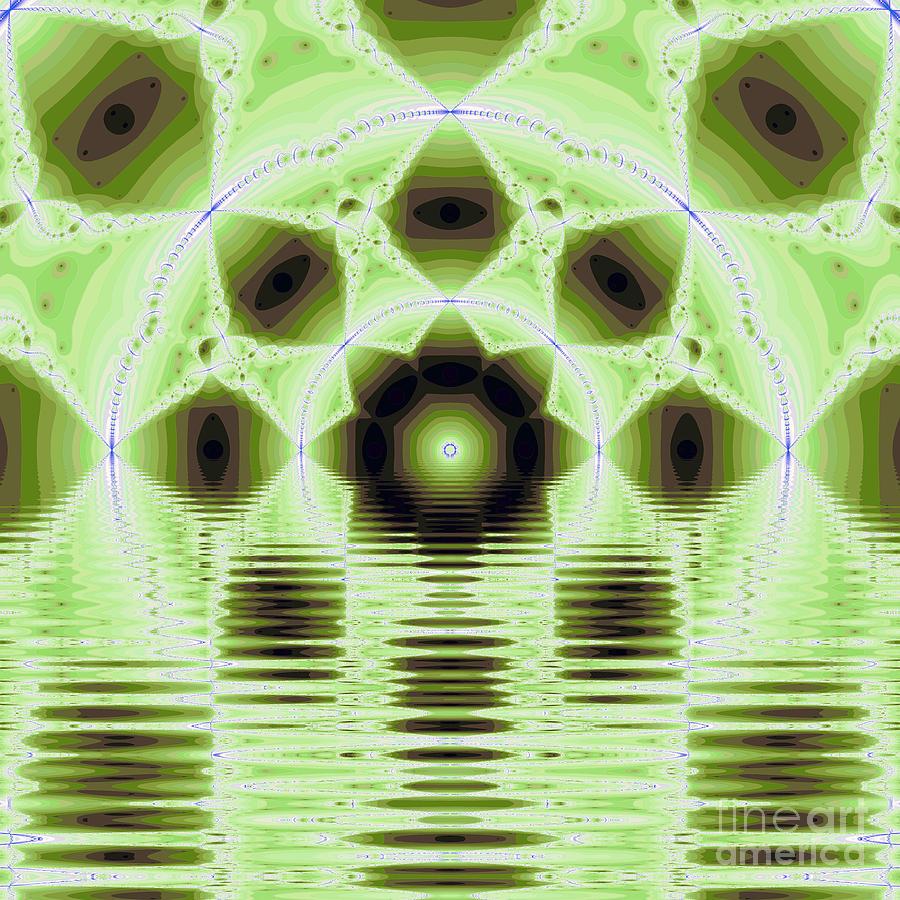 Fracta Digital Art - Fantasy Fractal by Odon Czintos