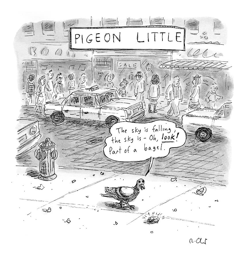 Captionless Drawing by Roz Chast