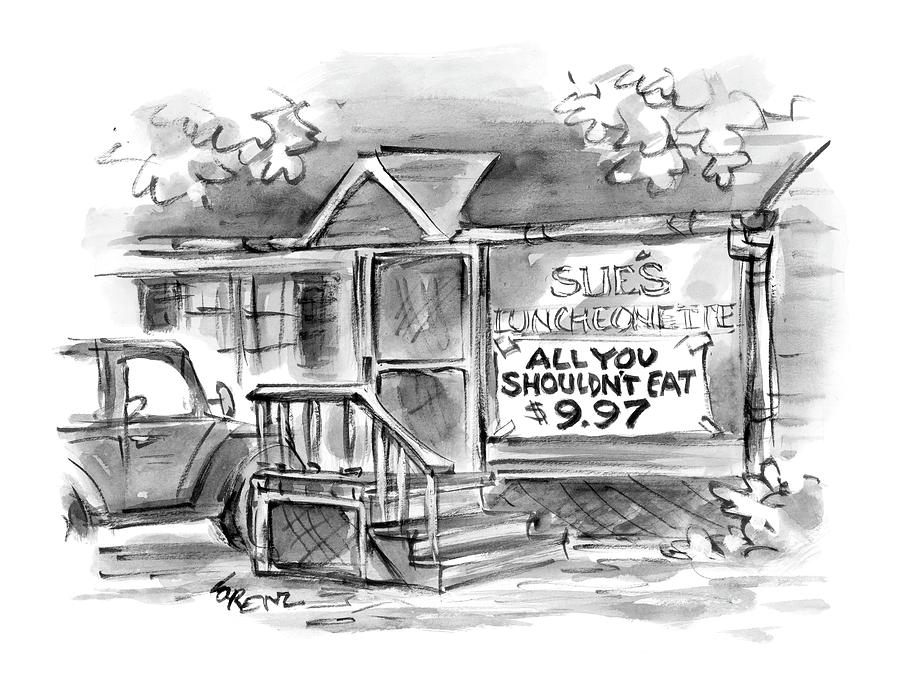 New Yorker September 6th, 2004 Drawing by Lee Lorenz
