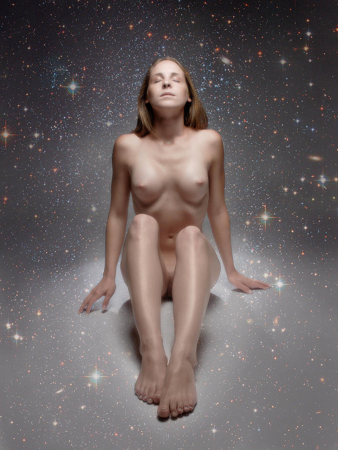 Naked woman in picture