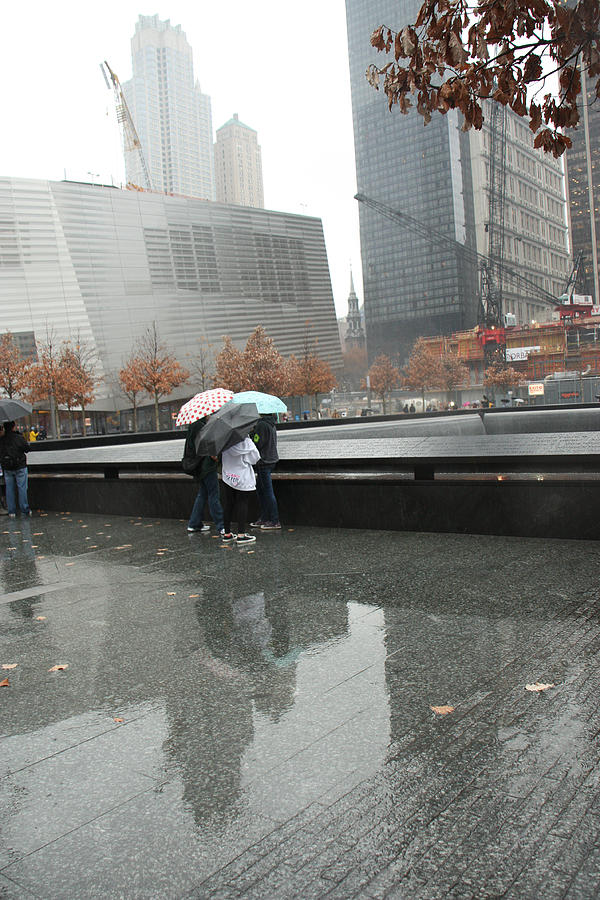 911 Memorial Photograph - 8455 Reflections by Deidre Elzer-Lento