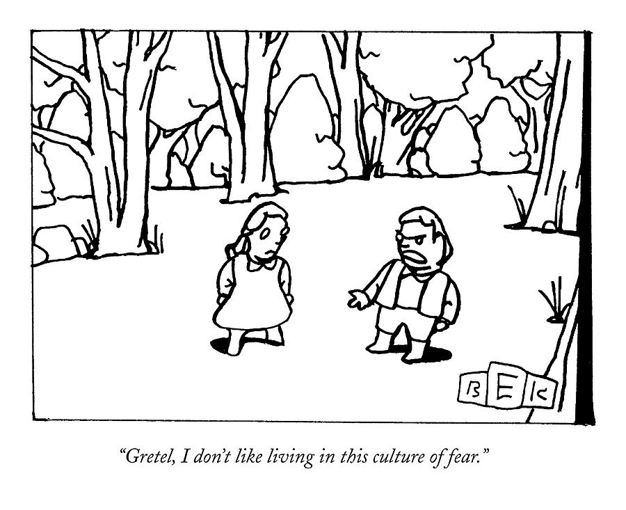 New Yorker September 28th, 2009 Drawing by Bruce Eric Kaplan