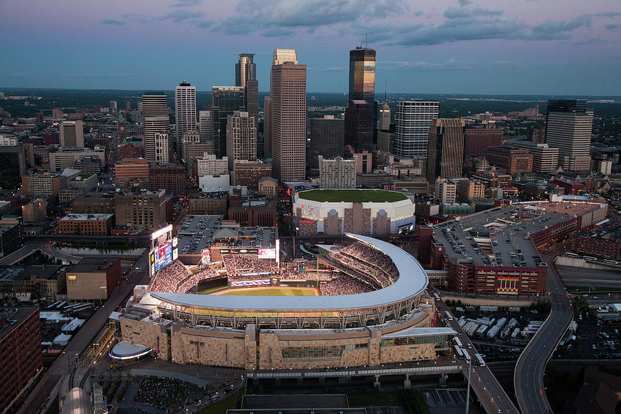 85th Mlb All-star Game Aerials Photograph by Steven Bergerson