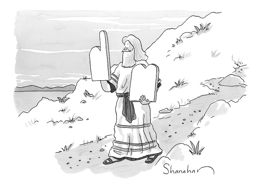 New Yorker February 9th, 2009 Drawing by Danny Shanahan