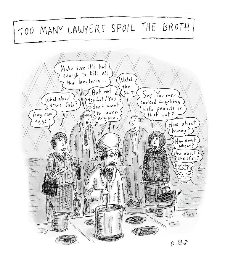 New Yorker May 21st, 2007 Drawing by Roz Chast