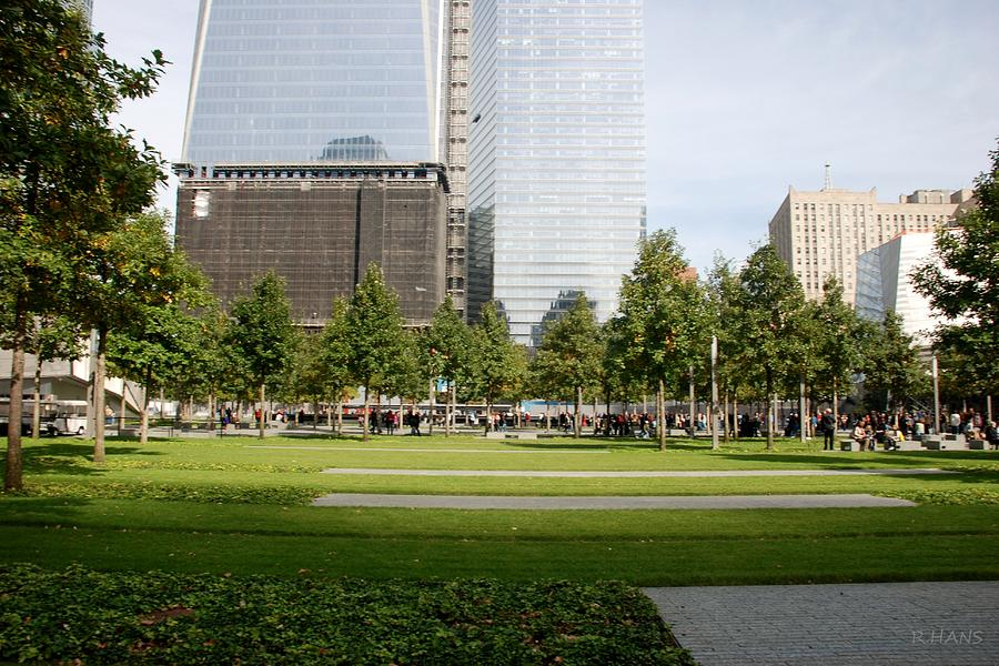 Wtc Photograph - 9/11 Grass by Rob Hans