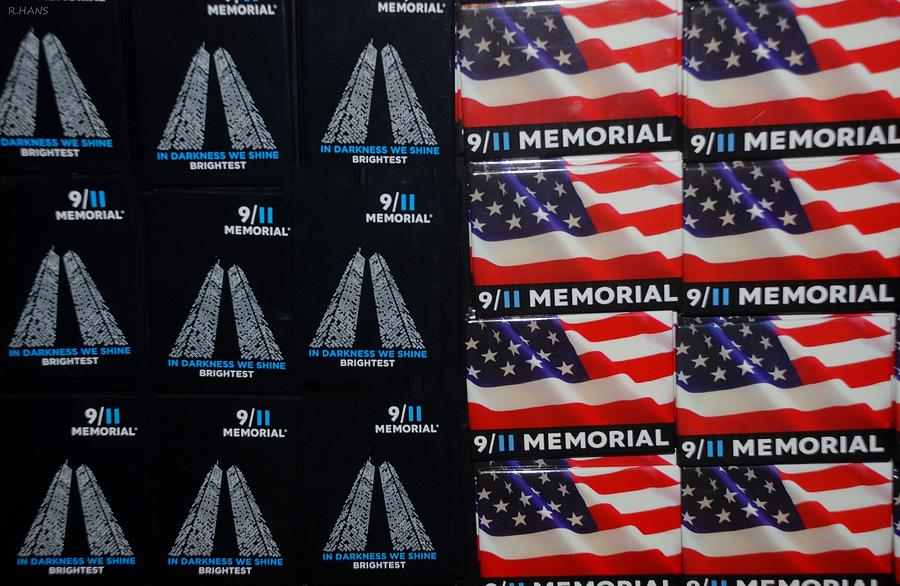 Wtc Photograph - 9/11 Memorial For Sale by Rob Hans