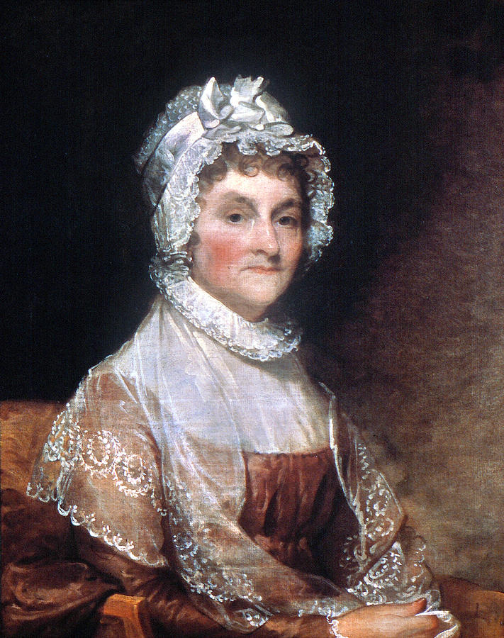 1815 Painting - Abigail Adams (1744-1818) by Granger