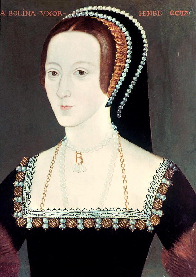 16th Century Painting - Anne Boleyn (1507-1536) by Granger