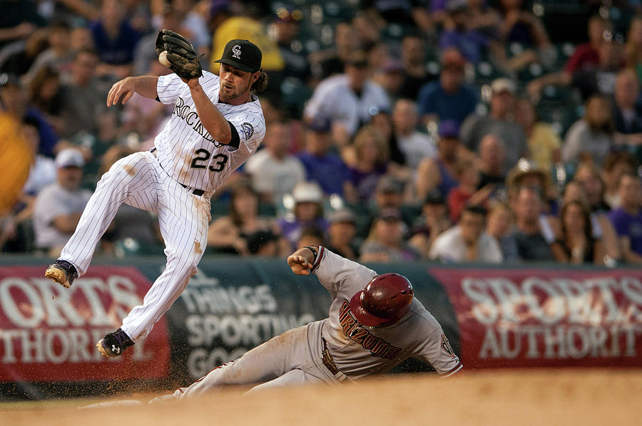 Arizona Diamondbacks V Colorado Rockies 9 Photograph by Dustin Bradford