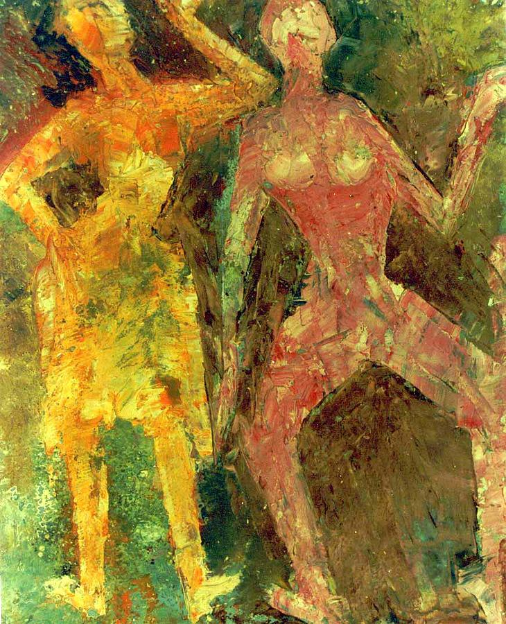 an analysis of the daras dance a painting by beverly mciver