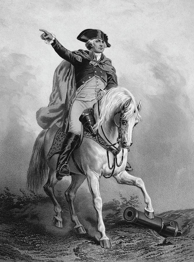18th Century Painting - George Washington (1732-1799) by Granger