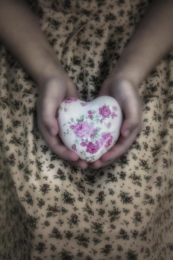 Floral Photograph - Heart by Joana Kruse