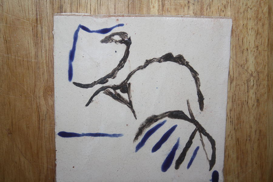 Jesus Ceramic Art - Mama - Tile by Gloria Ssali