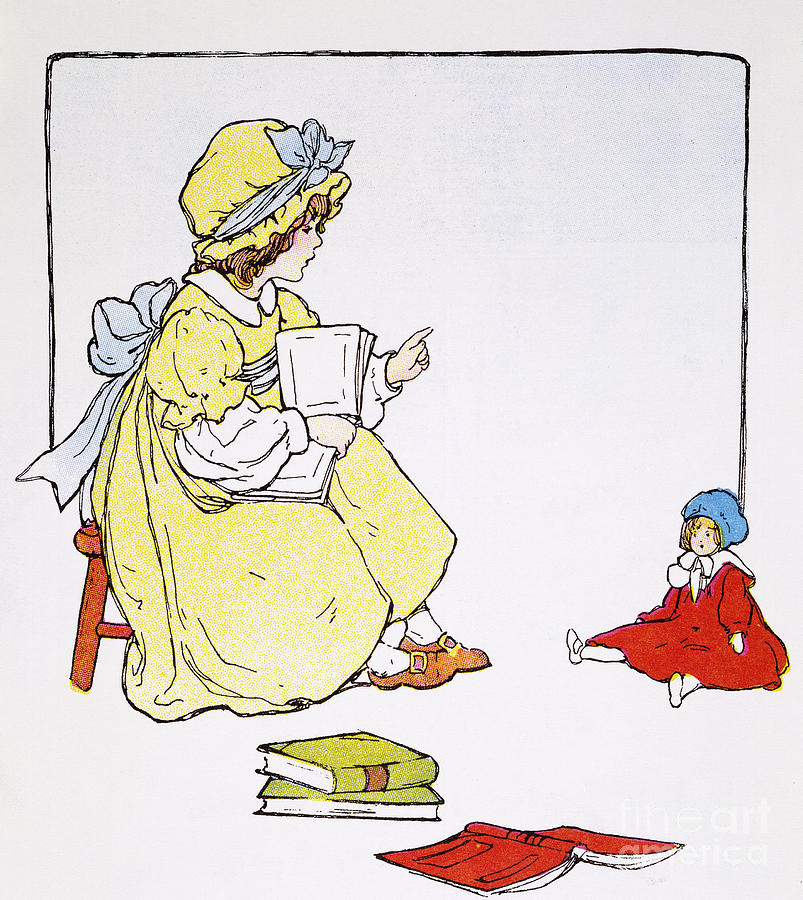 1916 Photograph - Mother Goose, 1916 by Granger